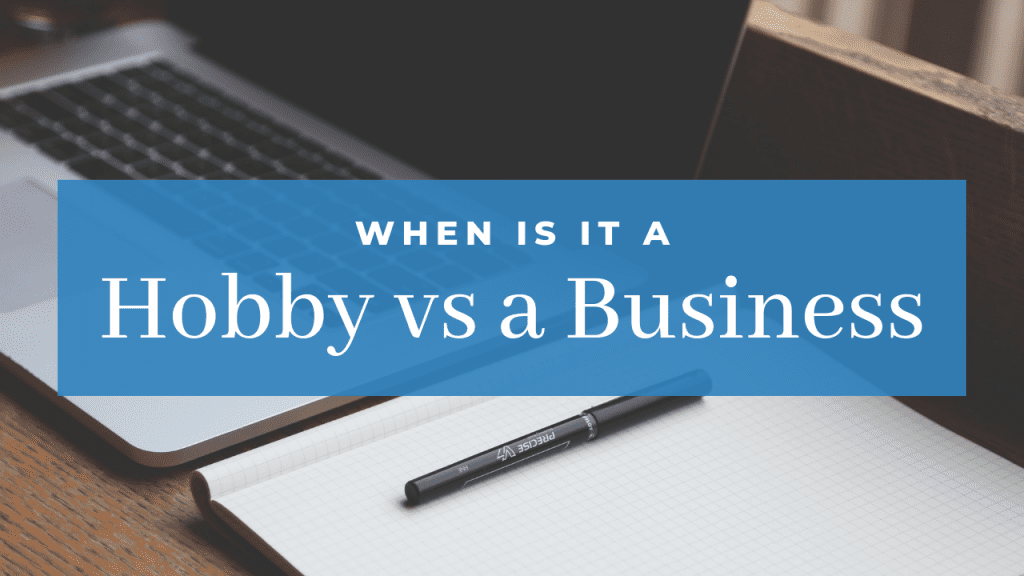 Hobby versus Business at Hardworking Mom