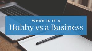 Hobby versus Business at Hardworking Mom